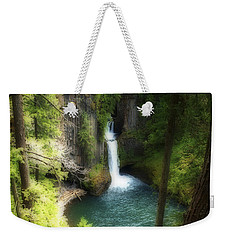 Waterfall In The Grotto Weekender Tote Bag