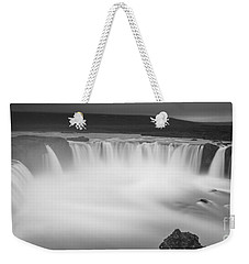 Waterfall Of The Gods Iceland Weekender Tote Bag by Gunnar Orn Arnason