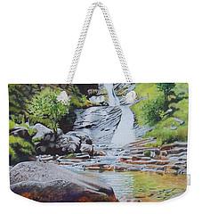 Waterfall On Skye 2 Weekender Tote Bag
