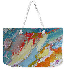 Waterfall On The Unknown Planet Weekender Tote Bag