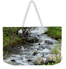 Waterfall Picture - Alaska Weekender Tote Bag