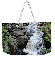 Waterfall Pillsbury State Park Weekender Tote Bag
