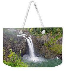 Waterfall Through The Mist Weekender Tote Bag