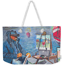 Waterfront Artist Weekender Tote Bag