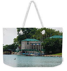 Waterfront Weekender Tote Bag by Jose Rojas