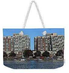 Waterfront Property Weekender Tote Bag