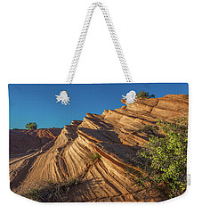 Waterhole Canyon Rock Formation Weekender Tote Bag