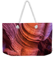 Waterholes Canyon Ribbon Candy Weekender Tote Bag