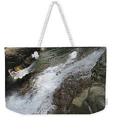Weekender Tote Bag featuring the photograph Watering Hole by Aaron Martens
