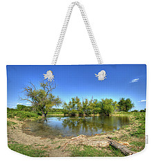 Watering Hole Weekender Tote Bag by Ricky Dean