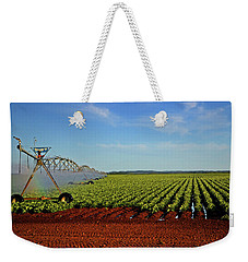 Weekender Tote Bag featuring the photograph Watering The Garden 002 by George Bostian