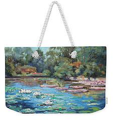 Waterlilies Pond In Tower Grove Park Weekender Tote Bag