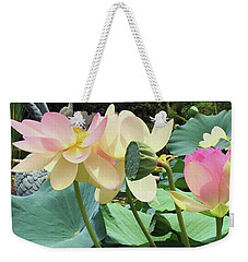 Waterlillies Weekender Tote Bag
