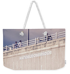 Waterloo Bridge Weekender Tote Bag