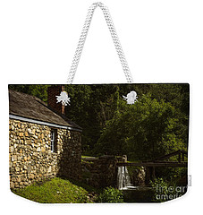 Waterloo Canal Lock Weekender Tote Bag