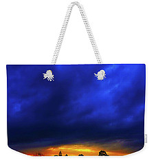 Weekender Tote Bag featuring the photograph Waterloo Sunset by Mark Blauhoefer