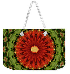Watermelon Delight Weekender Tote Bag by Sheila Ping