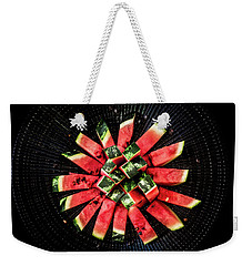 Watermelon Sun Weekender Tote Bag by Edgar Laureano