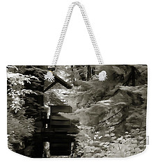 Watermill Deep In The Forest Weekender Tote Bag by Odon Czintos