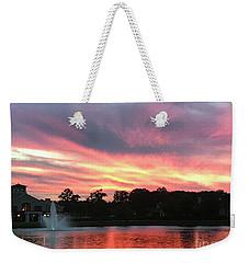 Waters Aflame Weekender Tote Bag