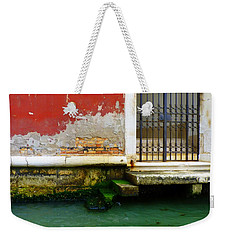 Water's Edge In Venice Weekender Tote Bag
