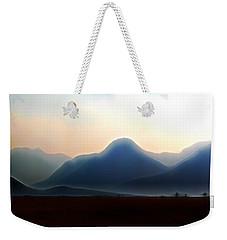 Waterton - Mountain Panorama Weekender Tote Bag by Stuart Turnbull