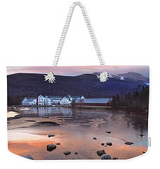 Waterville Valley Sunset Weekender Tote Bag