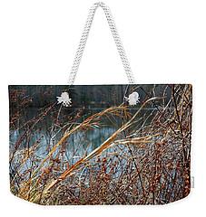 Waterway Weekender Tote Bag