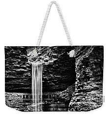 Watkins Glen Cavern Cascade Waterfall #5 Weekender Tote Bag