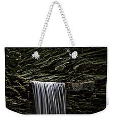Watkins Glen Cavern Cascade Waterfall Weekender Tote Bag