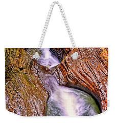 Watkins Glen - Rainbow Falls 005 Weekender Tote Bag