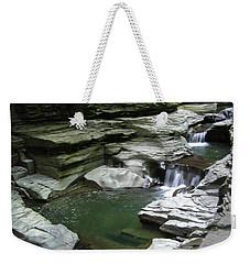 Weekender Tote Bag featuring the photograph Watkins Glen State Park by John Schneider