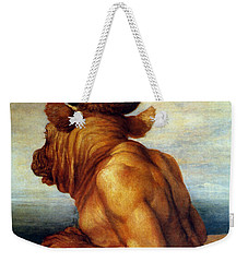 Watts: The Minotaur Weekender Tote Bag