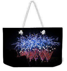 Waukesha Fireworks 04 Weekender Tote Bag