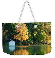 Waupaca Chain Boathouse Weekender Tote Bag