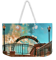 Waupaca Main Street Weekender Tote Bag by Trey Foerster
