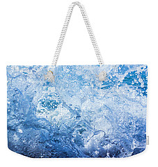 Wave With Hole Weekender Tote Bag