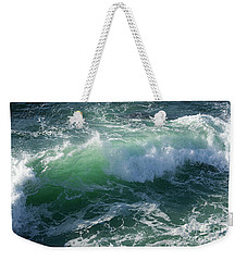 Wave At Montana De Oro Weekender Tote Bag