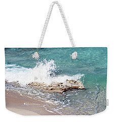 Gentle Wave In Bimini Weekender Tote Bag