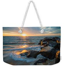 Wave Break Weekender Tote Bag