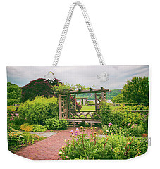 Wave Hill Respite Weekender Tote Bag by Jessica Jenney
