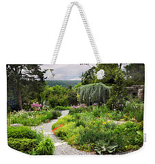 Wave Hill Spring Garden Weekender Tote Bag by Jessica Jenney