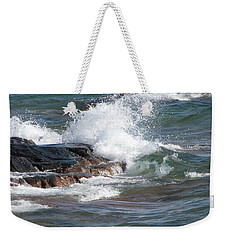 Wave Length Weekender Tote Bag