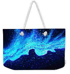 Wave Nebula Weekender Tote Bag
