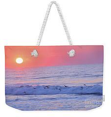Wave Of Gratitude Nature Art Weekender Tote Bag