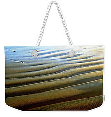 Wave Patterns At Drake's Beach, Point Reyes National Seashore Weekender Tote Bag