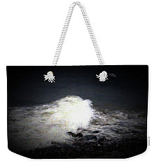 Wave Rolling Onto Beach Weekender Tote Bag