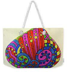 Wave Sharpie Shell Weekender Tote Bag