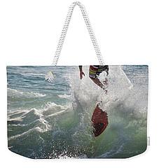 Wave Skimmer Weekender Tote Bag
