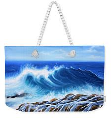 Wave Weekender Tote Bag by Vesna Martinjak